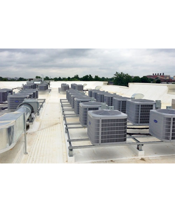 Maintenance of central air conditioners HVAC