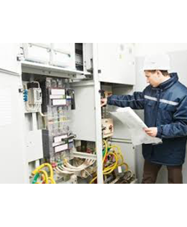 Inspection of electrical, commercial and industrial connections.